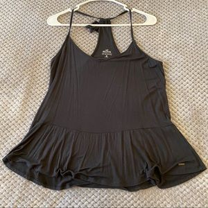 Hollister Must Have Peplum Cami - Black